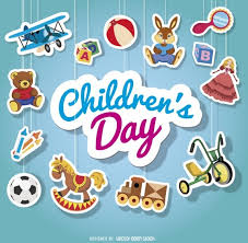 childrens day hanging ornament stickers vector free vector in