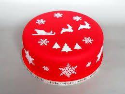 Christmas Cake Decorations Simple by Alice 4 Manchester Women