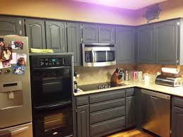 How To Paint Oak Cabinets Photography Painting Kitchen Cabinets - Blue painted kitchen cabinets