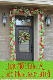 best 25 deco mesh garland ideas on pinterest mesh garland mesh