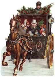 275 vintage christmas horses images vintage