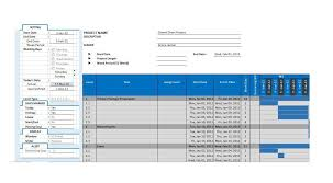 Excel Template For Gantt Chart 36 Free Gantt Chart Templates Excel Powerpoint Word Template Lab