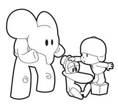 pocoyo coloring pages 3975