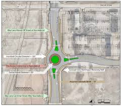 Maps Okc Roundabout Recommended In Oklahoma City To Ease Maps 3 Convention