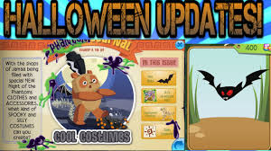 animal jam halloween updates pet bats and spooky party youtube