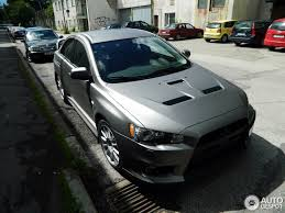 mitsubishi grey mitsubishi lancer evolution x 27 june 2014 autogespot