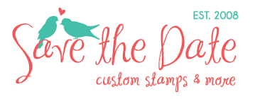 Save The Date Stamp Custom Self Inking Stampssave The Date Custom Stamps Embossers
