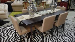 dining set stainless dining table narrow dining table with
