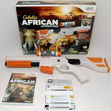 Cabelas Home Decor by Wii Wii U Cabela U0027s African Adventures Game W Top Shot Elite Rifle