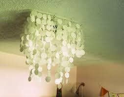 diy pendant light kit diy faux capiz shell pendant light chandelier