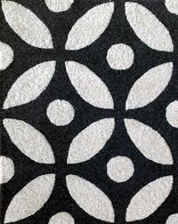 Area Rug Patterns Geometric Black And White Rug Pattern Wall To Wall Commercial