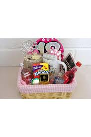 Birthday Gift Delivery Personalised 18th Birthday Girls Alcohol Gift Basket 18th Gift