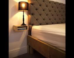 Wooden King Size Bed Frame Wood Bed Frame Etsy