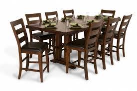 enormous counter 9 piece dining set bob u0027s discount furniture