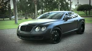 bentley continental 2016 black blacked out bentley continental gt youtube