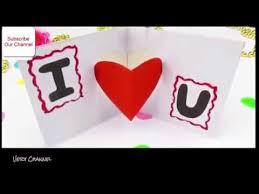 cara membuat kartu ucapan i love you cara membuat kartu ucapan romantis untuk kekasih trik keren