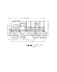 figure 2 13 side elevation truck cargo wwn and wown m35a2