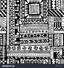 Tribal Print Wallpaper by Black White Tribal African Seamless Pattern Stock Vector 332540447