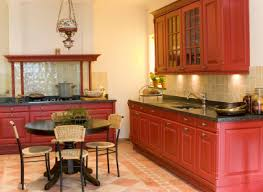 Red Cabinets In Kitchen by Update Kitchen Cabinets Dark Wood Floors What Color Wood Floor