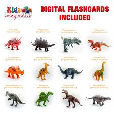 amazon com kids imaginative dinosaurs small u0026 large plastic