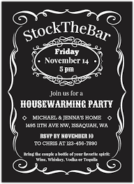 stock the bar invitations vintage stock the bar housewarming party invitation housewarming
