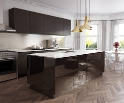 how to get a high end kitchen for less island and rear benchtops feature essastone in carrara matt finish with island cabinetry front panels