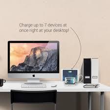 Charging Station Desk Amazon Com Satechi 7 Port Usb Charging Station Dock For Iphone 6