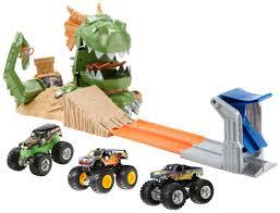 monster truck shows in ct wheels monster jam dragon blast challenge play set shop