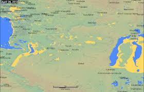Aral Sea Map Dartmouth Flood Observatory
