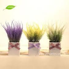 Potted Plants Wedding Centerpieces by Gnw Gp020 2 Artificial Plant Bonsai Mini Potted Decorative Plants