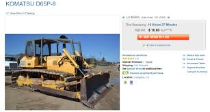 volvo rigs for sale this 250 000 caterpillar bulldozer can be yours for the low low