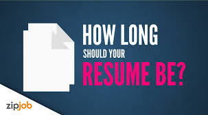 How Long Should Resume Be Exactly How Long Should Your Resume Be 2016 Youtube