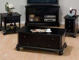 Black Living Room Tables Black Living Room End Tables Home Design Plan