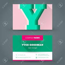 visitenkarte design visitenkarte design vorlage vektor hintergrundfarbe brief