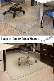 Exercise Floor Mats Over Carpet by Best 25 Office Chair Mat Ideas On Pinterest Industrial Chair