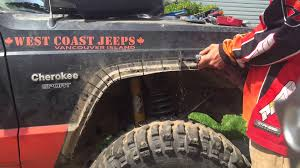 monster jeep tj flares savagely installed on xj loki the monster jeep youtube