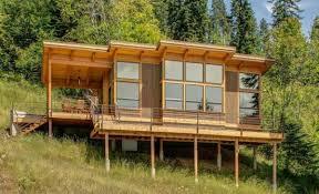 cute 550 sq ft prefab timber cabin