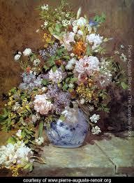 spring bouquet pierre auguste renoir pierre auguste renoir renoir paintings value