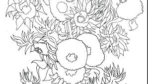 coloring page for van van gogh starry night coloring page van coloring pages impressive