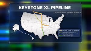 Keystone Map Keystone Xl Pipeline Rejected Fox17