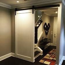 Barn Door Frame by Modern Panel Barn Door