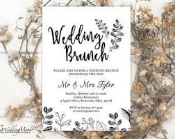 wedding brunch invitation post wedding brunch invitation rustic and simple eat drink