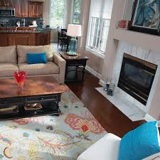 choosing an area rug how to choose area rug color for living room