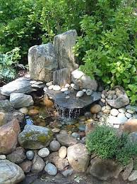Pebbles And Rocks Garden 75 Relaxing Garden And Backyard Waterfalls Digsdigs