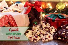 Homemade Gift Ideas by Quick Homemade Gift Ideas Youtube