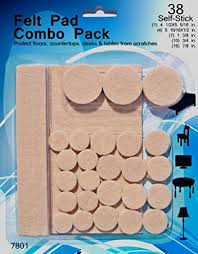 Chair Protection Amazon Com Felt Pads 38 Pack Various Sizes Self Stick Heavy