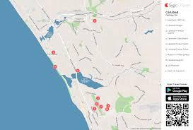 california map carlsbad carlsbad printable tourist map sygic travel