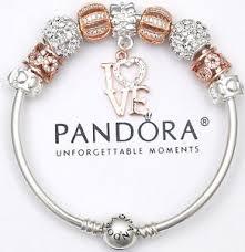 authentic pandora bracelet bangle gold