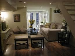 living room basement living room ideas grey polyester sofa