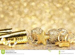 Decorations On New Year S Eve by New Years Eve Golden Party Background Stock Photo Image 47105508